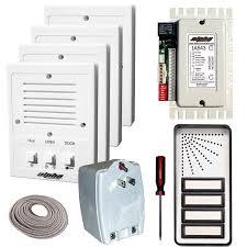 alpha communications apartment intercom kits choose from 8 low
