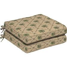 better homes and gardens dining seat outdoor cushion set of 2