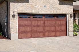 Chi Overhead Doors Prices C H I Insulated Garage Door Model 5983 In Oak With Stockton
