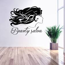 popular hair removal sticker buy cheap lots girl beauty salon sign wall decal art murals hair dryer haircut barber removable stickers vinyl