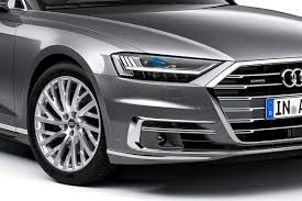 2018 audi a8 l headlight photos first pictures 2018 audi a8