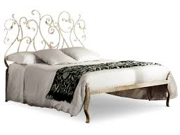 wrought iron double bed klimt by cantori
