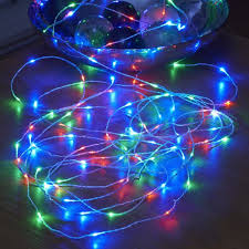 lighting colorful home idea with battery operated led lights