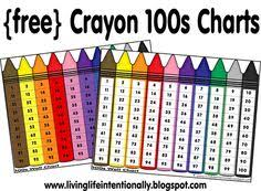 printable hundreds chart free free hundred chart and 10 ways to use it math eureka math and school