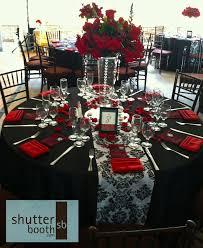shutterbooth san diego wedding modern elegance red white and