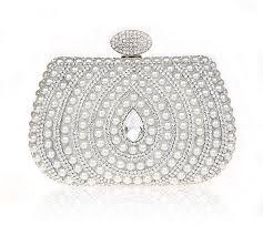 bridal makeup bags 13 best water drop pattern rhinestone evening bag