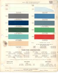 paint chips 1955 buick