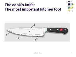 Most Important Kitchen Knives Handle And Maintain Knives In A Commercial Kitchen Level 2 Credit