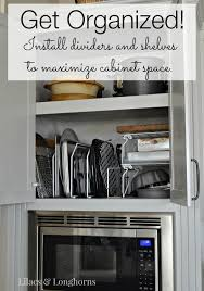 how to maximize cabinet space maximizing kitchen cabinet space get organized lilacs
