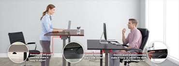 realspace magellan height adjustable desk realspace standing desks at office depot officemax