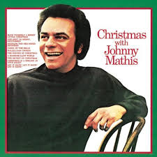 christmas with johnny mathis on vinyl album lp of classic