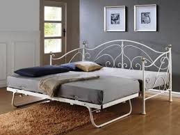 bedroom white daybed with pop up trundle wood metal wicker