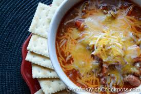 crock pot chili moms with crockpots