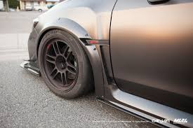 subaru wrx widebody ml24 subaru wrx and sti 2015 wide body fender flares scale