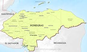 Map De Central America by Map Of Honduras Honduras Regions Rough Guides Rough Guides