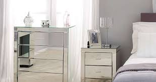 Armoire With Mirrored Front Furniture Furniture Drawers Mirrored Chest Of For Bedroom Cool