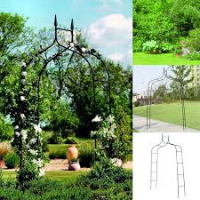 rose gothic arbor trellis home yard garden lawn backyard path arch