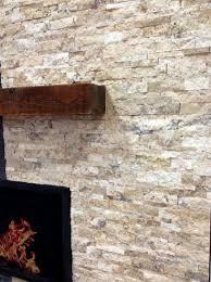 Travertine Fireplace Tile by Byzantine Splitface Travertile Fireplace Stone Fireplace Stone
