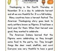 3rd grade thanksgiving worksheets festival collections