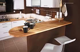 cuisine noir laqué plan de travail bois gallery of deco plan de travail cuisine sofag cuisine noir plan de