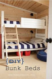 Build Your Own Loft Bed Free Plans by 9 Best Bunk Bed Plans Images On Pinterest Bunk Bed Plans 3 4