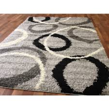 Black White Area Rug Brilliant Black And Gray Area Rugs To Enhance The Of Your