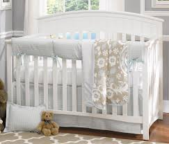 Crib Bedding Sets Liz Roo Powder Blue Houndstooth 4 Crib Bedding Set