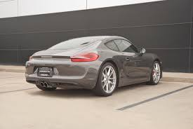 cayman porsche 2014 2014 porsche cayman s for sale in colorado springs co p2312