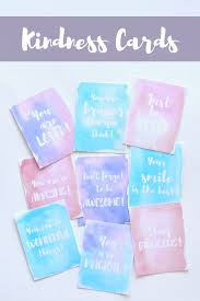 Words Of Wisdom Cards Free Printable Kindness Cards Kid Kin