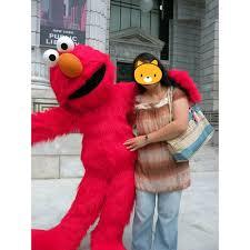 sesame street rosita zoe red elmo grover cookie monster mascot costume