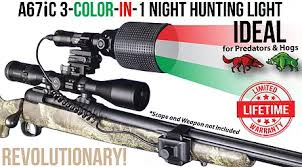 night hunting lights for scopes wicked lights high performance night hunting lights