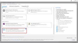 prerequisites for net core on windows microsoft docs