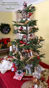 noble fir tree pruned in the vintage tabletop
