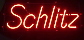 light up beer signs vintage schlitz malt liquor 1968 neon beer sign bar light mancave