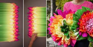 crepe paper flowers how to make crepe paper flowers diy crafts handimania