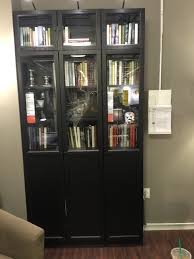 Billy Bookcase With Glass Doors Add Glass Doors To Bookcase 40 For Billy Bookcase Extension