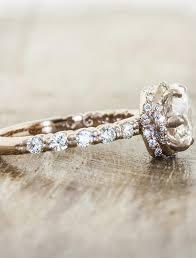 2 s ring jeein ii gold diamond ring vintage inspired ken