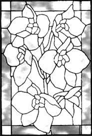 tableau verre transparent pour ecrire motifs fleuri pour tableaux peinture sur verre et porcelaine
