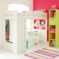 bureau pour chambre de fille peinture pour chambre fille 14 lit en hauteur avec bureau