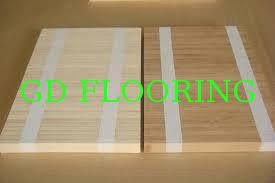bamboo flooring without any glue to keep health made by bamboo paenls