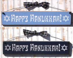 happy hanukkah sign jewish holiday decorations hanukkah