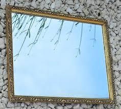 mirror art deco rectangular hanging vintage home decor bedroom