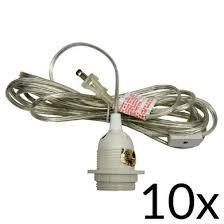 Pendant Light Kits Single Socket Pendant Light Cord Kit For Lanterns 15ft Ul Listed