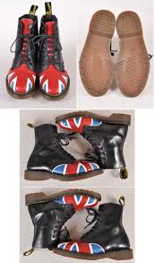 British Flag Boots Used Clothing Penguintripper Rakuten Global Market Made In