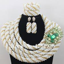 beads necklace set images 2016 white coral bead sets jewelry latest design nigerian beads jpg