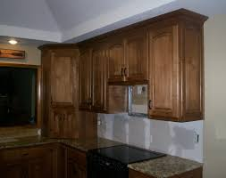 refaced base cabinetry with new custom upper cabinets kc wood