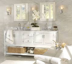 Pottery Barn Bathroom Furniture Sweet Pottery Barn Bathroom With Startling Accent