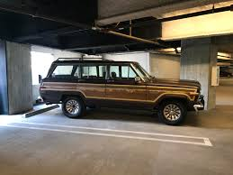 jeep grand wagoneer just bought this 85 jeep grand wagoneer v8 4wd and it u0027s my first