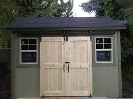 Sliding Barn Doors Sale by One Of The Simplest Ways To Build Single Shed Doors For Your