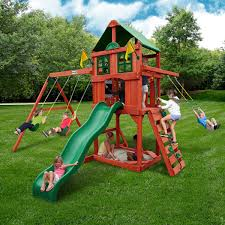 How To Build A Wooden Playset Playsets Costco
